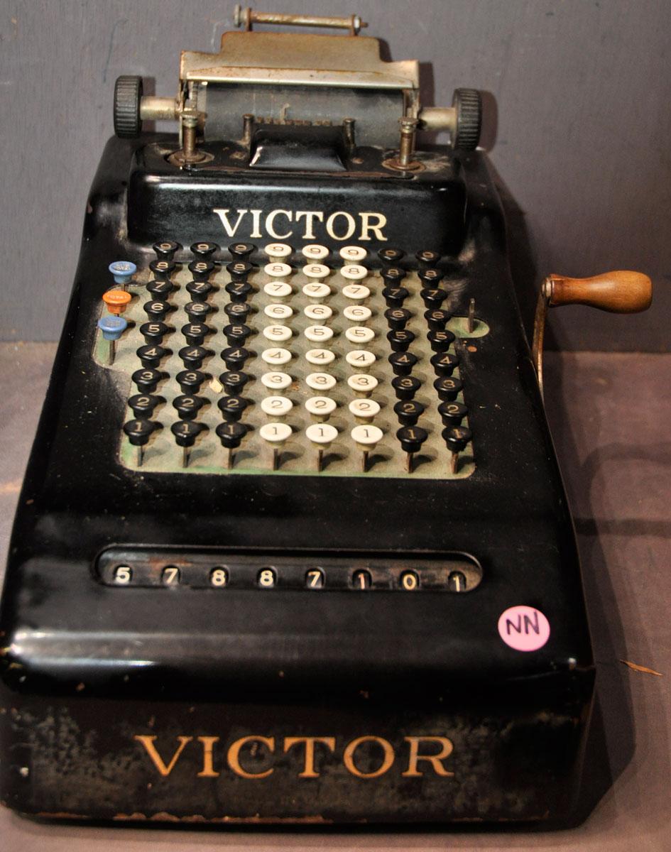 antique victor adding machine value