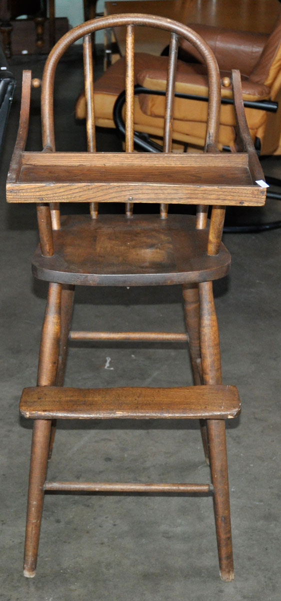 Antique bentwood high chair antique furniture for Antique high chairs